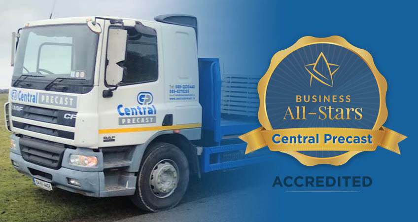 Image for Central Precast is Business All Stars Accredited