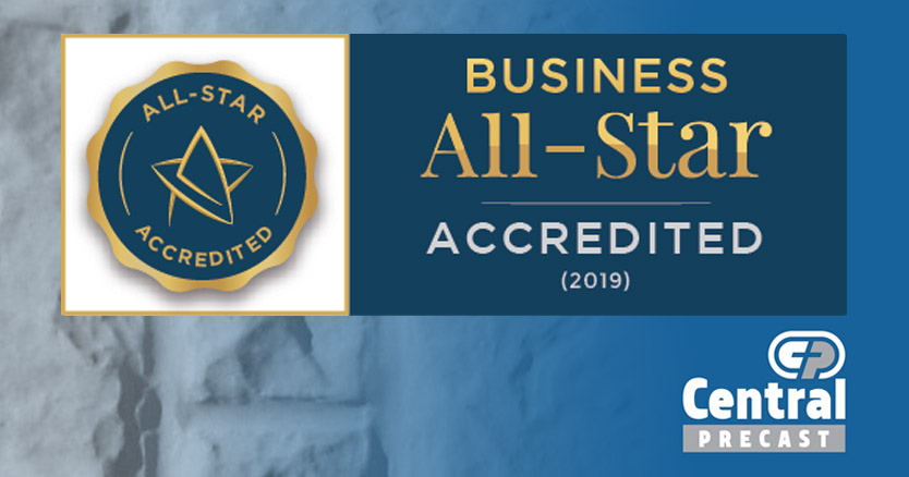 Image for Delighted to receive Business All-Star Accreditation