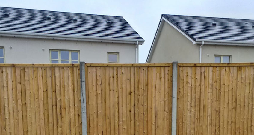 Image for Panel Fencing project in Naas, Co Kildare