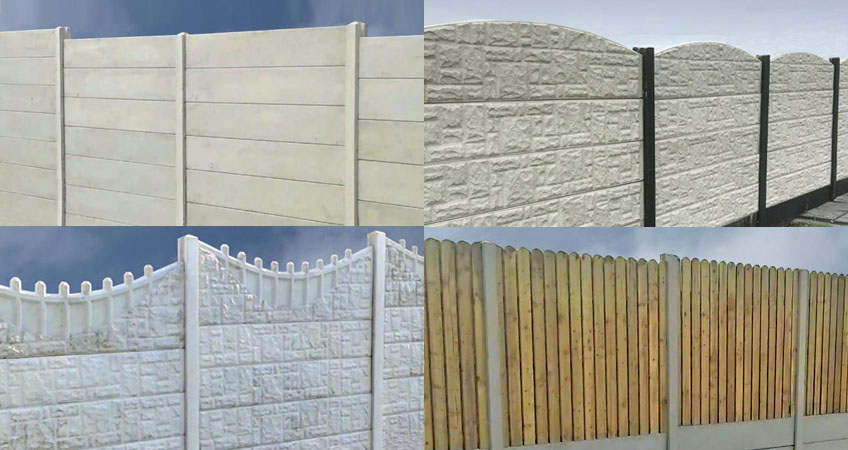 Image for Choose from our wide range of concrete fencing products